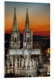 Akrylglastavla  cathedral of cologne - rclassen