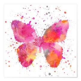 Premiumposter  Artsy Butterfly - Andrea Haase