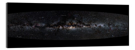 Akrylglastavla  Milky Way Panorama (German) - Jan Hattenbach