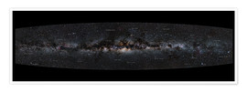 Premiumposter Milky Way Panorama (German)
