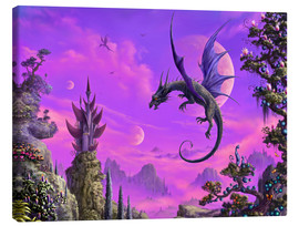 Canvastavla  The Dragon Kingdom - Susann H.