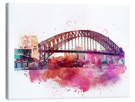Canvastavla  Sydney Harbor Bridge - Andrea Haase