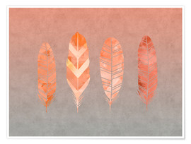 Premiumposter Feathers