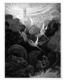 Premiumposter  the crowned virgin - Gustave Doré