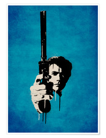 Premiumposter Clint Eastwood - Dirty Harry
