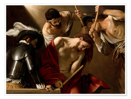 Premiumposter  The Crowning with Thorns - Michelangelo Merisi (Caravaggio)