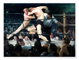 Premium poster  Stag at Sharkey's - George Wesley Bellows
