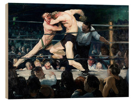 Trätavla  Stag at Sharkey's - George Wesley Bellows