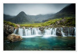 Premiumposter  The Fairy Pools, Glen Brittle, Skye, Scotland - Markus Ulrich