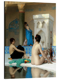 Aluminiumtavla  After the Bath - Jean Leon Gerome