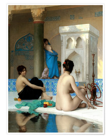 Premiumposter  After the Bath - Jean Leon Gerome