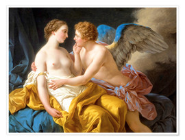 Premiumposter Amor and Psyche