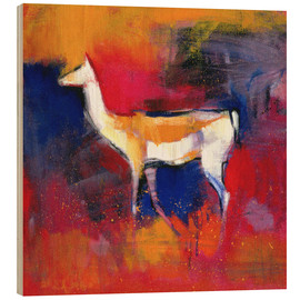 Trätavla  foal, abstract - Mark Adlington