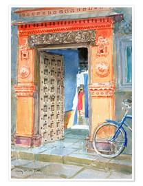 Premiumposter  In the Old Town, Bhuj - Lucy Willis