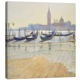 Canvastavla  Venice at Dawn - Timothy Easton