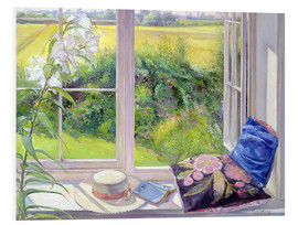 PVC-tavla  Reading window seat - Timothy Easton