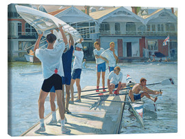 Canvastavla  Preparation for rowing - Timothy Easton