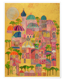 Poster  The Golden City - Laila Shawa