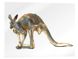 Akrylglastavla  Roo, side view - Mark Adlington
