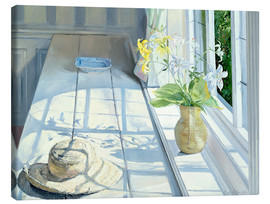 Canvastavla  Still life in front of the window - Timothy Easton