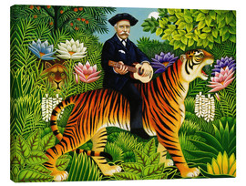 Canvastavla  Henri Rousseau's Dream - Frances Broomfield