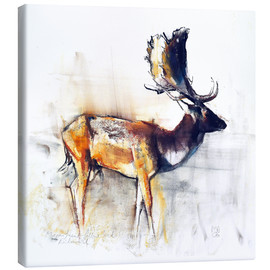 Canvastavla  Moose - Mark Adlington