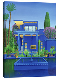 Canvastavla  Majorelle Gardens, Marrakech - Larry Smart