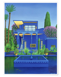 Premiumposter  Majorelle Gardens, Marrakech - Larry Smart