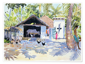 Premiumposter  The Backwaters, Kerala - Lucy Willis