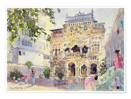 Premiumposter  House on the Hill, Bombay - Lucy Willis