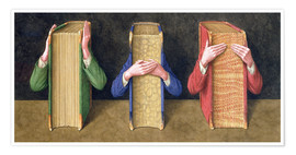 Premiumposter  Three Wise Books, 2005 - Jonathan Wolstenholme