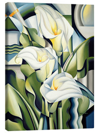 Canvastavla  Gilding The Lily - Catherine Abel