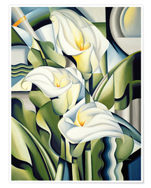 Poster  Gilding The Lily - Catherine Abel