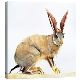 Canvastavla  Hare - Mark Adlington