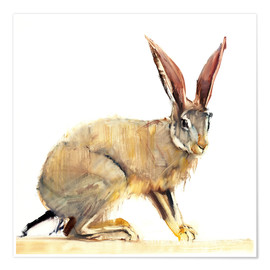 Poster  Hare - Mark Adlington