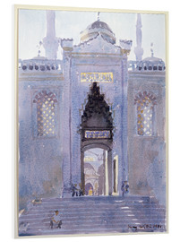 PVC-tavla  Gateway to The Blue Mosque - Lucy Willis