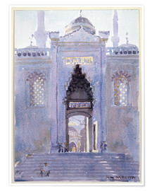 Premiumposter  Gateway to The Blue Mosque - Lucy Willis
