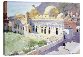 Canvastavla  Mosque, Taiz, Yemen - Lucy Willis