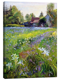 Canvastavla  Cottage in the country - Timothy Easton