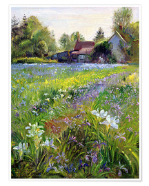 Premiumposter  Cottage in the country - Timothy Easton