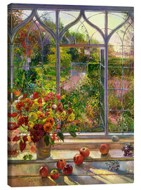 Canvastavla  Autumn view - Timothy Easton