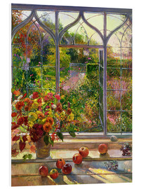PVC-tavla  Autumn view - Timothy Easton