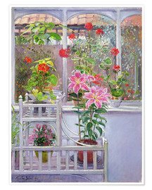 Premiumposter  In the winter garden - Timothy Easton