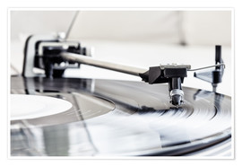 Premiumposter  turntable - Filtergrafia