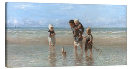 Canvastavla  Children of the sea - Jozef Israels