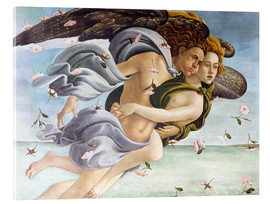 Akrylglastavla  Birth of Venus, Angels - Sandro Botticelli