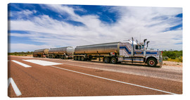 Canvastavla  Road Train Australia - Thomas Hagenau