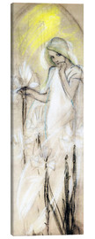 Canvastavla  Study for The Lily - Alfons Mucha