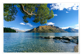 Premiumposter Queenstown New Zealand