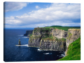 Canvastavla  Cliffs of Moher - The Irish Image Collection